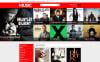 Mixed Taste Music Shop Tema Magento №53364 New Screenshots BIG