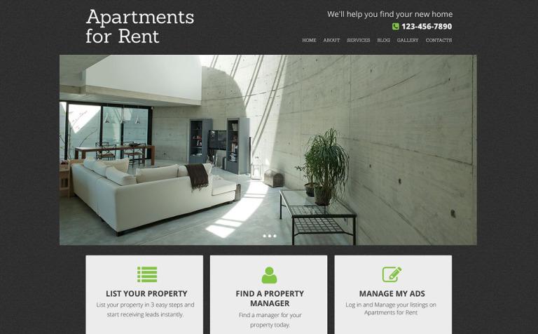 Plantilla Drupal #53348 para Sitio de Agencias inmobiliarias
