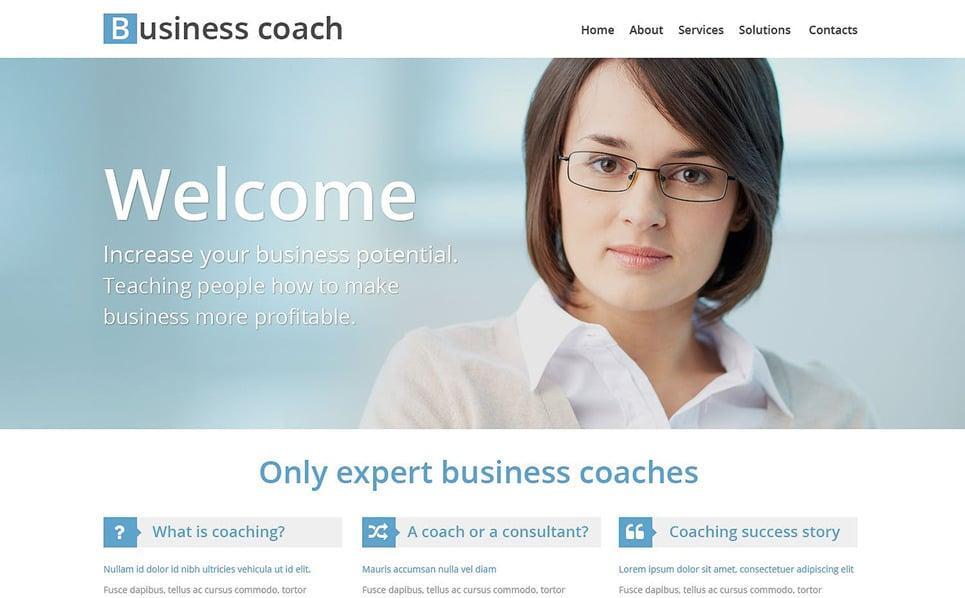 Responsive Website Vorlage für Wirtschaftshochschule  New Screenshots BIG