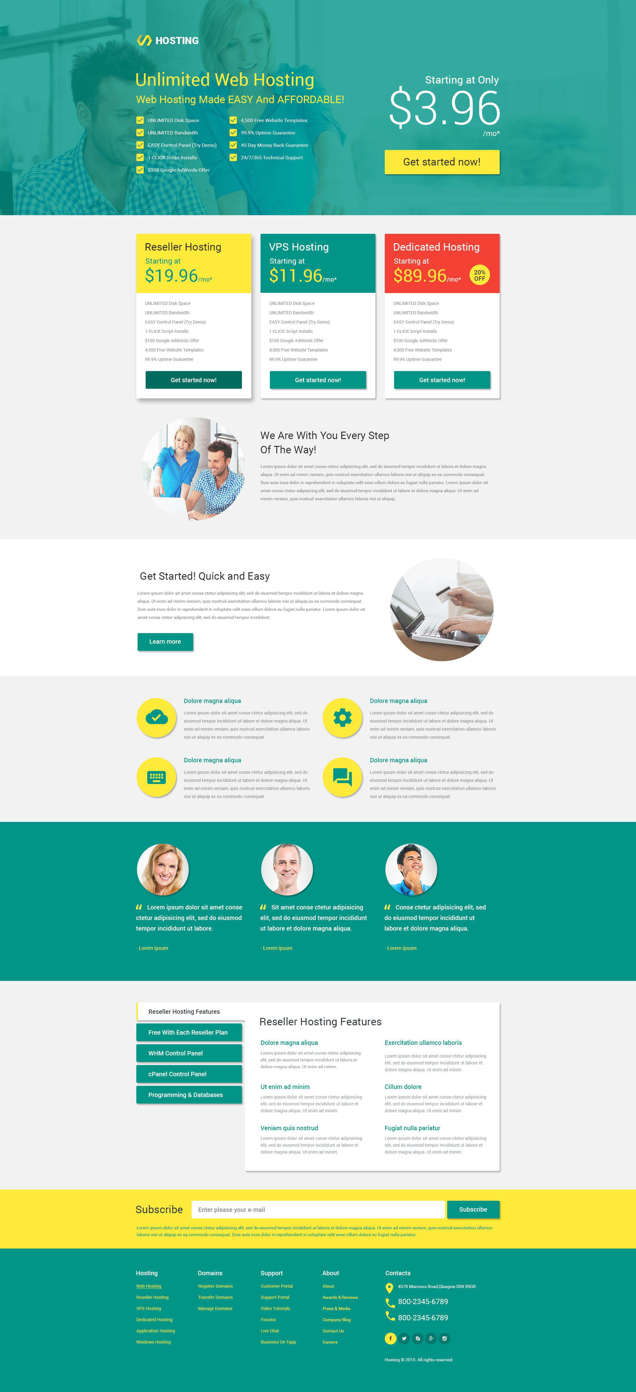 Landing Page Templates | Landing Page Template 53399 Fur Hosting