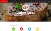 Reszponzív Kávézó témakörű  WordPress sablon New Screenshots BIG