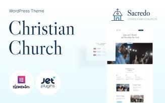 Sacredo - Responsive Religious WordPress Theme