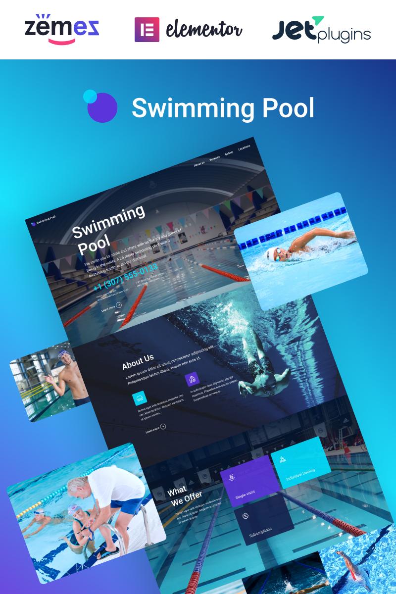 Swimming Pool Responsive WordPress Theme