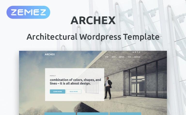Tema de WordPress #53370 para Sitio de Arquitectura