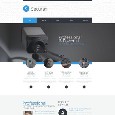 Tema de WordPress #53386 para Sitio de Seguridad