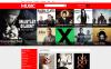 Tema Magento Flexível para Sites de Loja de Música №53364 New Screenshots BIG