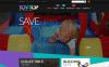Tema WooCommerce Responsive #53310 per Un Sito di Negozio di Giocattoli New Screenshots BIG