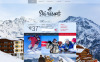 "Template Siti Web Responsive #53335 ""Ski Resort"" New Screenshots BIG"