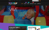 """Thème WooCommerce gratuit pour magasin de jouets"" thème WooCommerce adaptatif New Screenshots BIG"