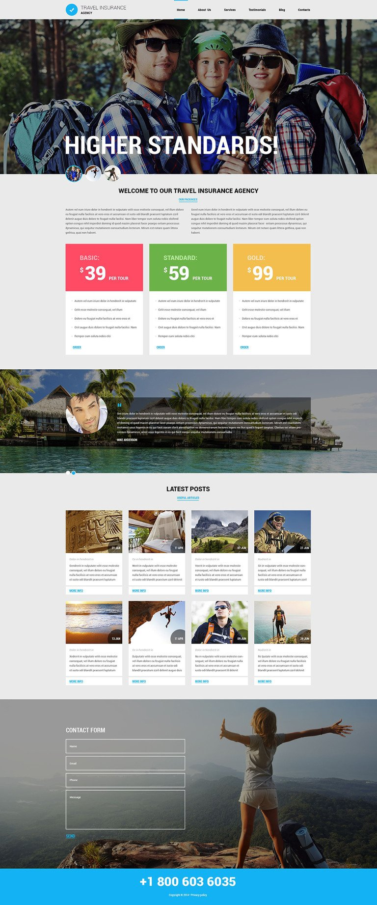 Travel Agency Responsive Joomla Template New Screenshots BIG