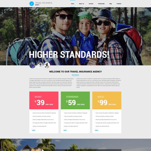 Travel Insurance - Joomla! Template based on Bootstrap