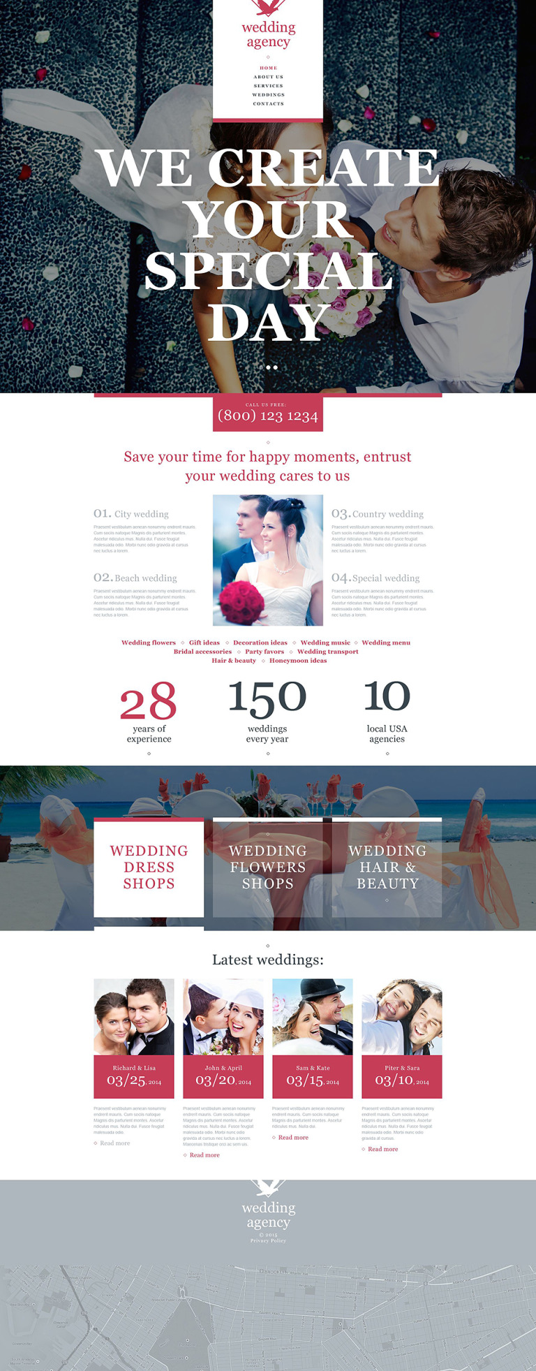 Wedding Muse Template New Screenshots BIG