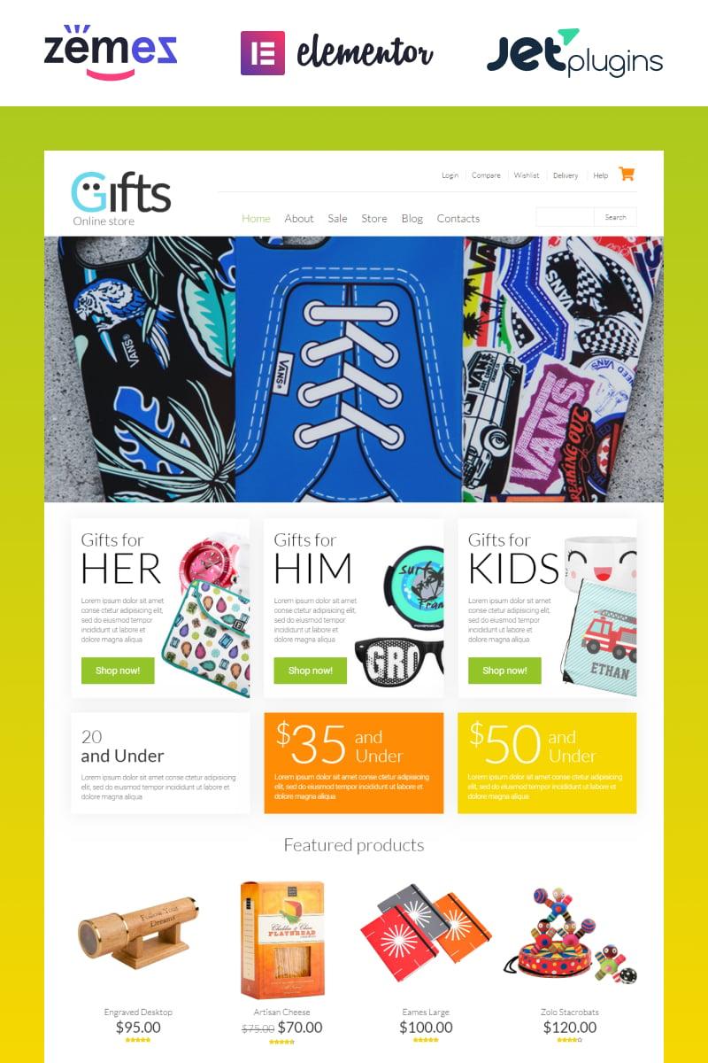 """WooCommerce Theme namens """"Geschenkladen"""" #53330"""