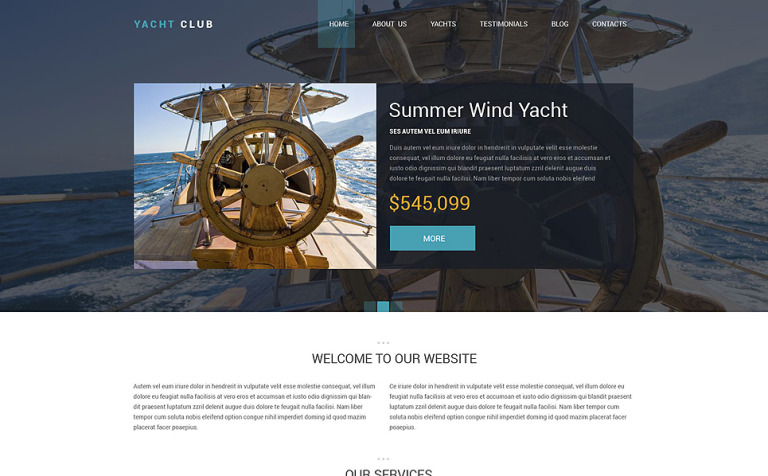 Yacht club drupal template 53349 yacht club drupal template new screenshots big toneelgroepblik Image collections