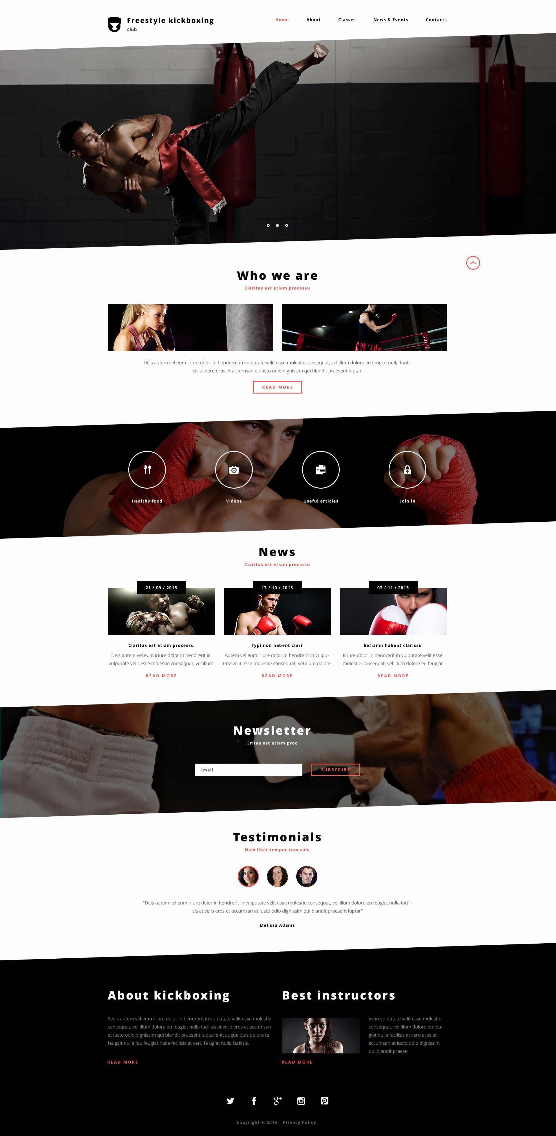 The Freestyle Kickboxing Bootstrap Design 53400, one of the best website templates of its kind (sport, most popular), also known as freestyle kickboxing website template, martial website template, arts website template, asia website template, asian website template, asians website template, training website template, fight website template, sport website template, fighter website template, sportsman website template, master website template, belt website template, weapon website template, kimono website template, judo website template, first website template, sword website template, will website template, pride website template, honour power school website template, coach website template, spirit website template, method website template, class website template, schedule website template, championship website template, world website template, martial website template, news website template, teacher website template, principles website template, instructors and related with freestyle kickboxing, martial, arts, asia, asian, asians, training, fight, sport, fighter, sportsman, master, belt, weapon, kimono, judo, first, sword, will, pride, honour power school, coach, spirit, method, class, schedule, championship, world, martial, news, teacher, principles, instructors, etc.