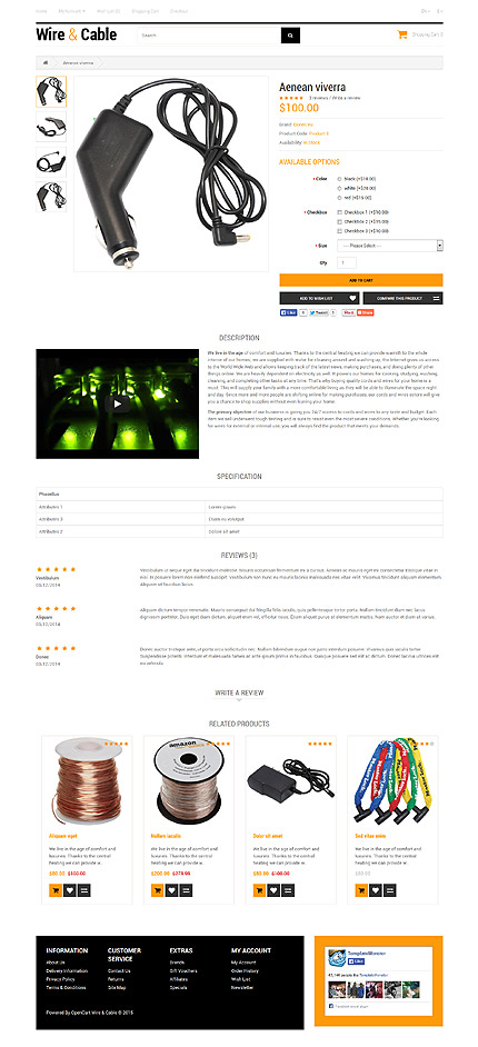 ADOBE Photoshop Template 53404 Home Page Screenshot