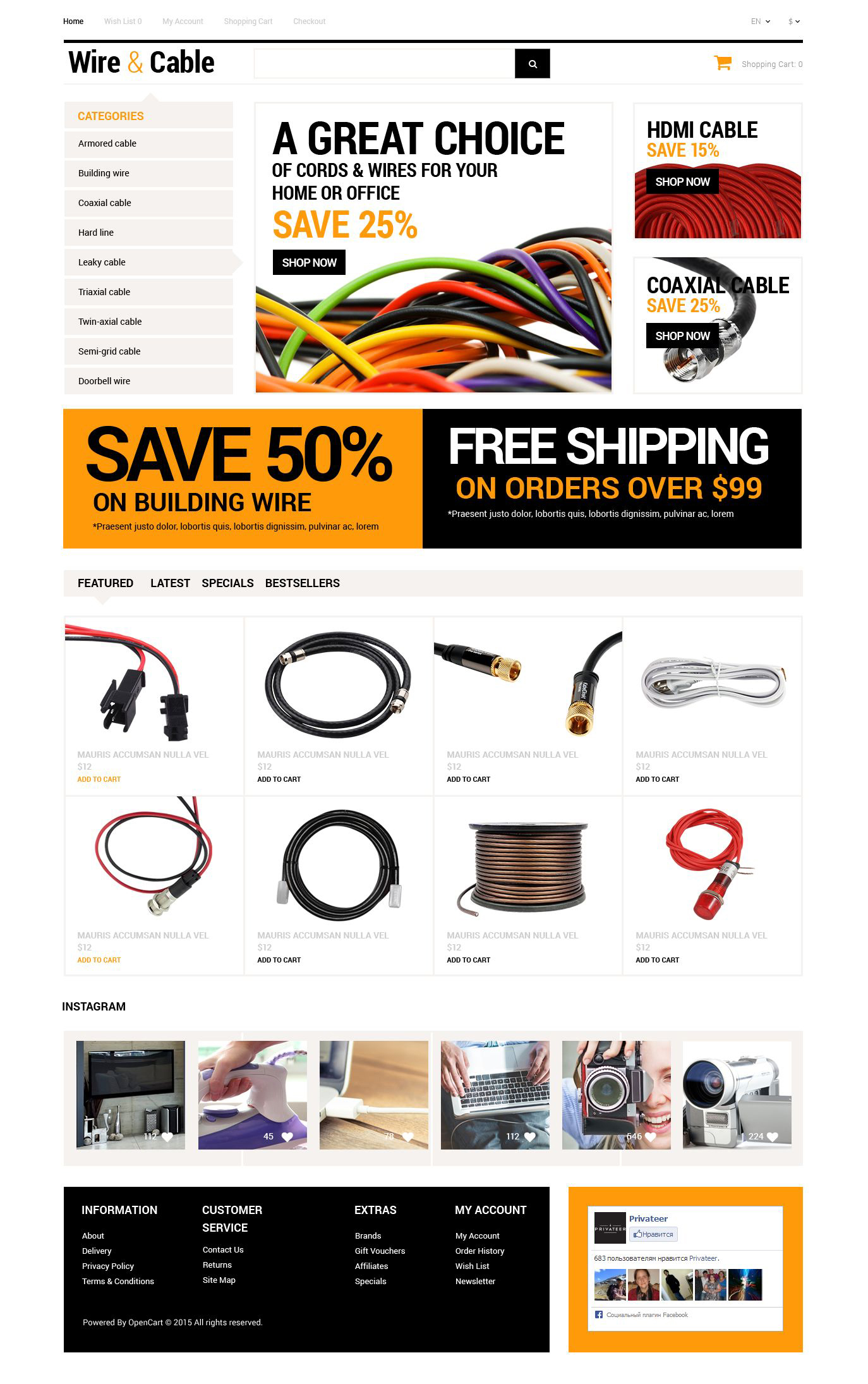 The Wire & Cable OpenCart Design 53404, one of the best OpenCart templates of its kind (electronics, most popular), also known as wire & cable OpenCart template, Cables hdmi OpenCart template, cable OpenCart template, audio OpenCart template, optical OpenCart template, toslink OpenCart template, fiber OpenCart template, etchernet OpenCart template, thunderbolt OpenCart template, firewire OpenCart template, hard OpenCart template, drive OpenCart template, serial OpenCart template, ata OpenCart template, sata OpenCart template, speaker OpenCart template, products OpenCart template, prices OpenCart template, price OpenCart template, list and related with wire & cable, Cables hdmi, cable, audio, optical, toslink, fiber, etchernet, thunderbolt, firewire, hard, drive, serial, ata, sata, speaker, products, prices, price, list, etc.