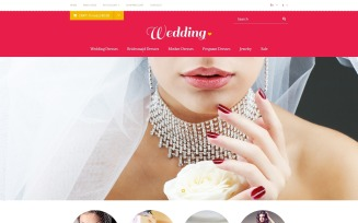 Wedding Store OpenCart Template