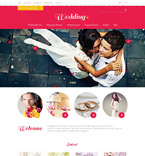 Wedding OpenCart  Template 53405