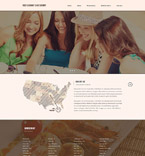 Cafe & Restaurant Website  Template 53406