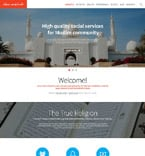 Society and Culture Website  Template 53409