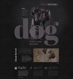 Animals & Pets Website  Template 53411