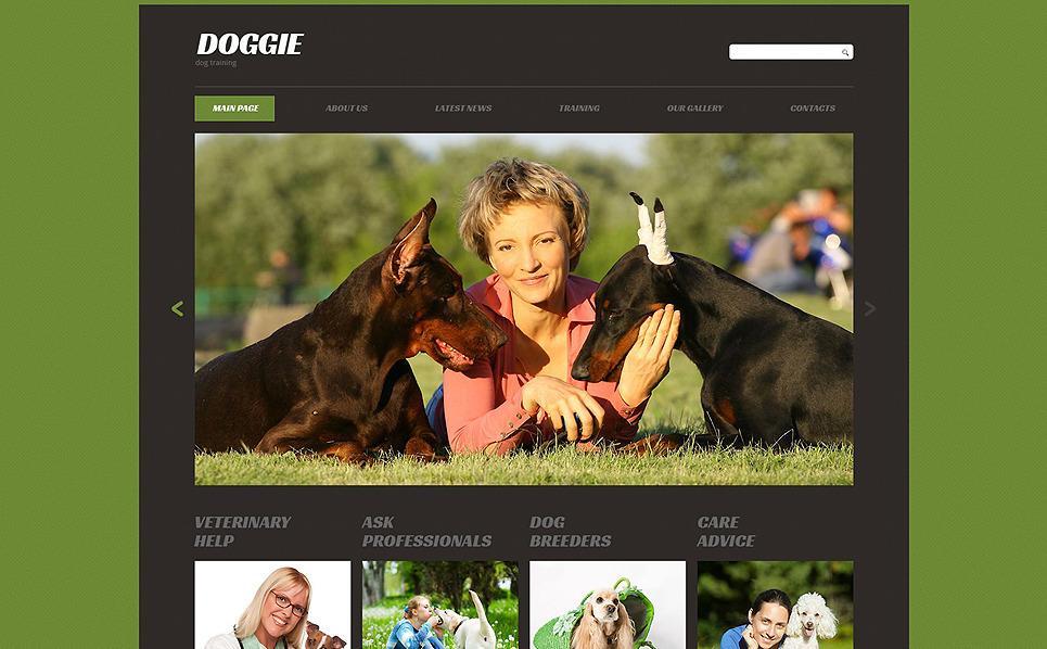 Reszponzív Kutyák Weboldal sablon New Screenshots BIG