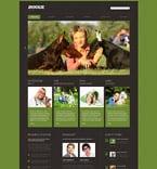 Animals & Pets Website  Template 53413
