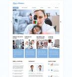Medical Website  Template 53414