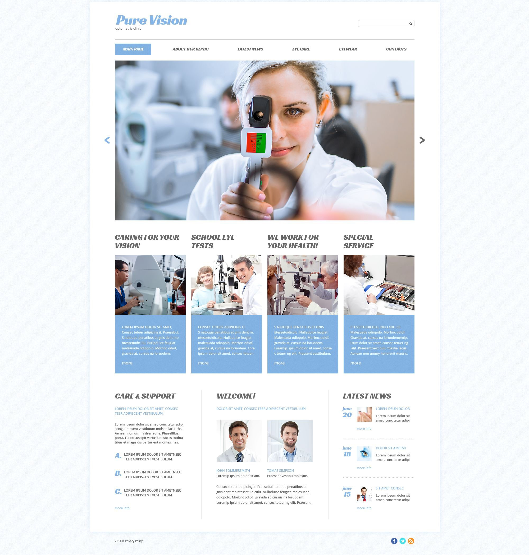 The Pure Vision Responsive Javascript Animated Design 53414, one of the best website templates of its kind (medical, most popular), also known as pure vision website template, optometrists website template, optometrist website template, optometric website template, crystal website template, eyes website template, sight website template, vision website template, medicine center clinic website template, eye care website template, lenses website template, glasses website template, laser website template, correction website template, ophthalmology website template, disease website template, surgery website template, glaucoma website template, oculoplastic surgery website template, cataract and related with pure vision, optometrists, optometrist, optometric, crystal, eyes, sight, vision, medicine center clinic, eye care, lenses, glasses, laser, correction, ophthalmology, disease, surgery, glaucoma, oculoplastic surgery, cataract, etc.