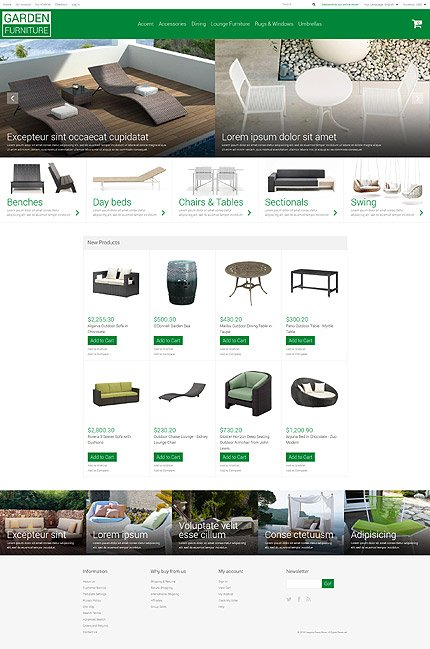 Magento Theme/Template 53424 Main Page Screenshot