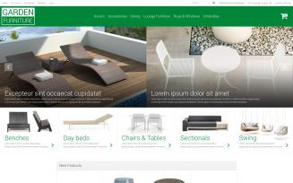 Garden Furniture Sheds Magento Theme