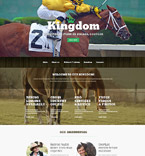 Agriculture Website  Template 53425