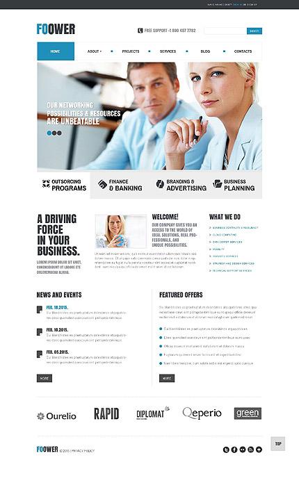 Joomla Theme/Template 53426 Main Page Screenshot