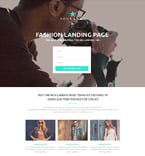 Fashion Landing Page  Template 53430