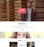 Fashion WordPress Template 53435