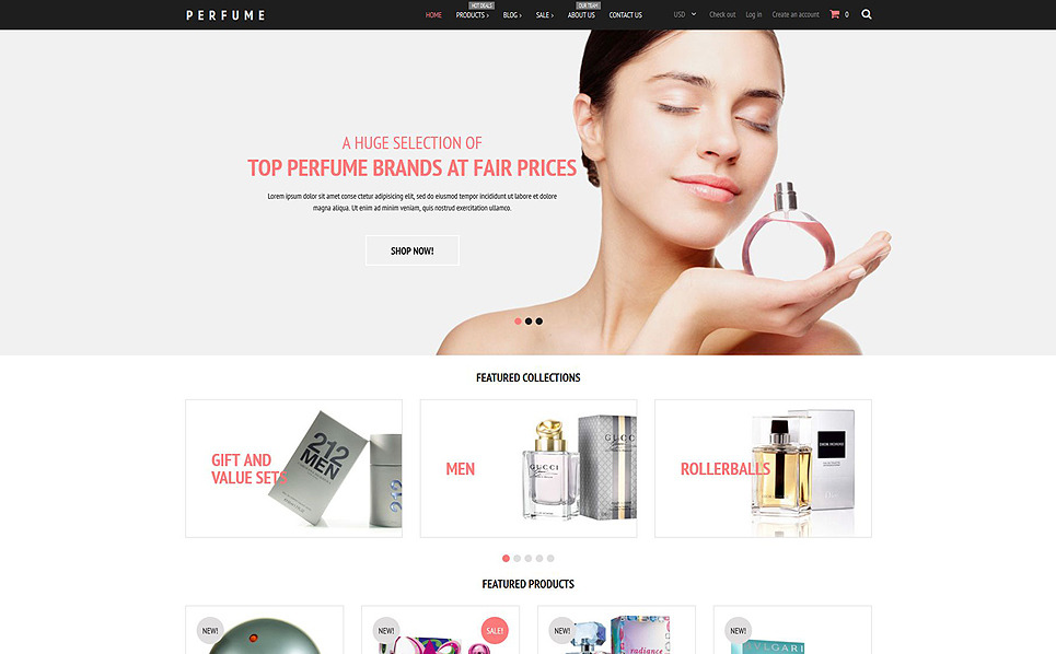 Responsive Shopify Thema over Cosmeticawinkel New Screenshots BIG