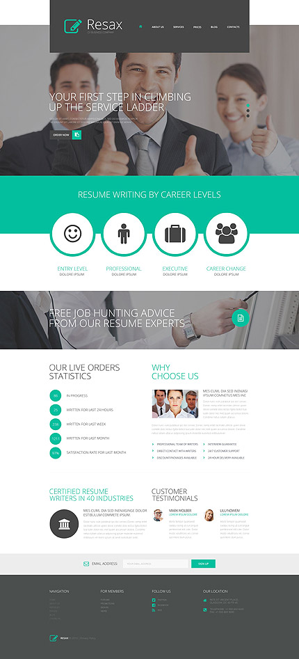 WordPress Theme/Template 53443 Main Page Screenshot