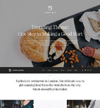 Cafe & Restaurant WordPress Template 53445