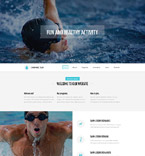 Sport Website  Template 53446