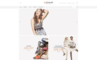 Trendy Clothes Store OpenCart Template