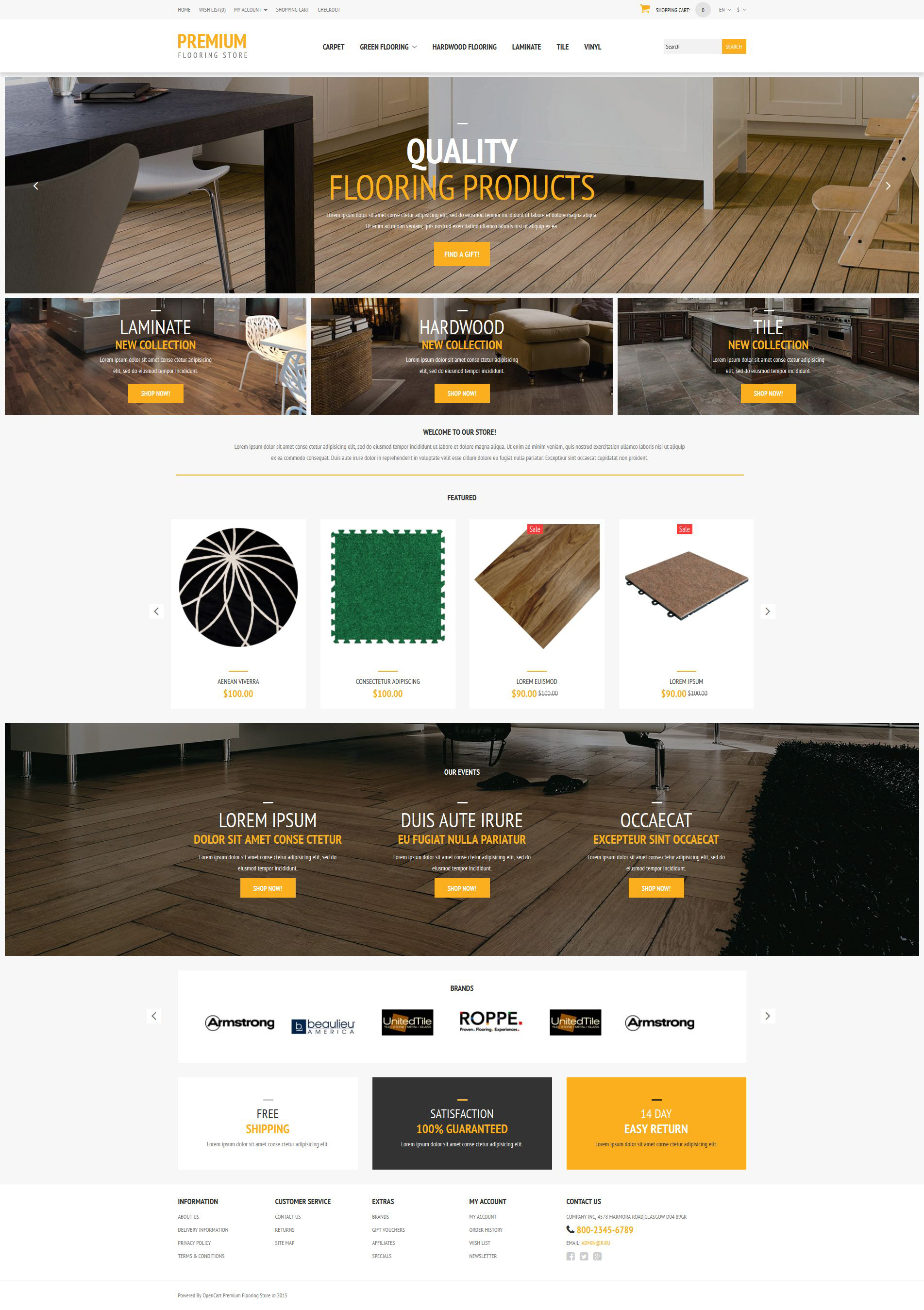 The Floor Flooring Online Store OpenCart Design 53450, one of the best OpenCart templates of its kind (interior & furniture, most popular), also known as floor flooring online store OpenCart template, shop OpenCart template, laminat OpenCart template, wood OpenCart template, carpet OpenCart template, area OpenCart template, rugs OpenCart template, cork OpenCart template, overhaul OpenCart template, maintenance OpenCart template, shopping cart and related with floor flooring online store, shop, laminat, wood, carpet, area, rugs, cork, overhaul, maintenance, shopping cart, etc.
