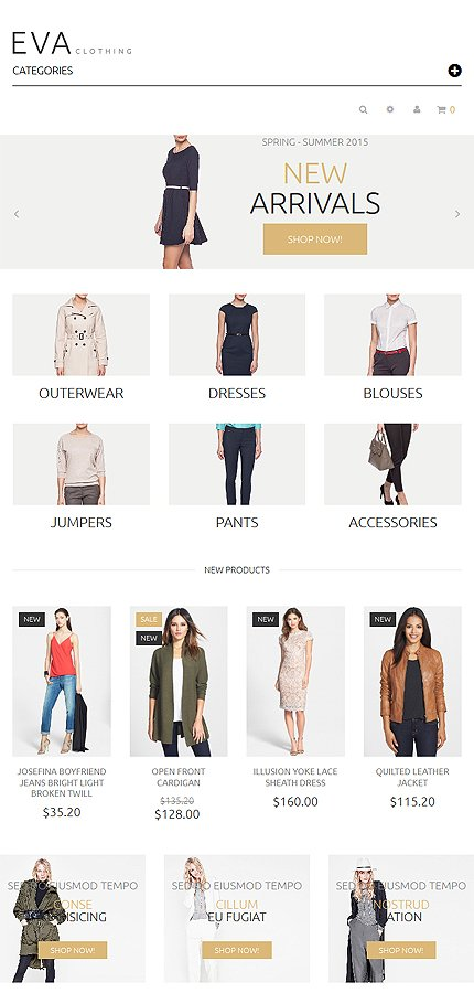 Magento Theme/Template 53452 Main Page Screenshot