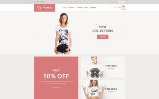T-Shirt Store VirtueMart Template