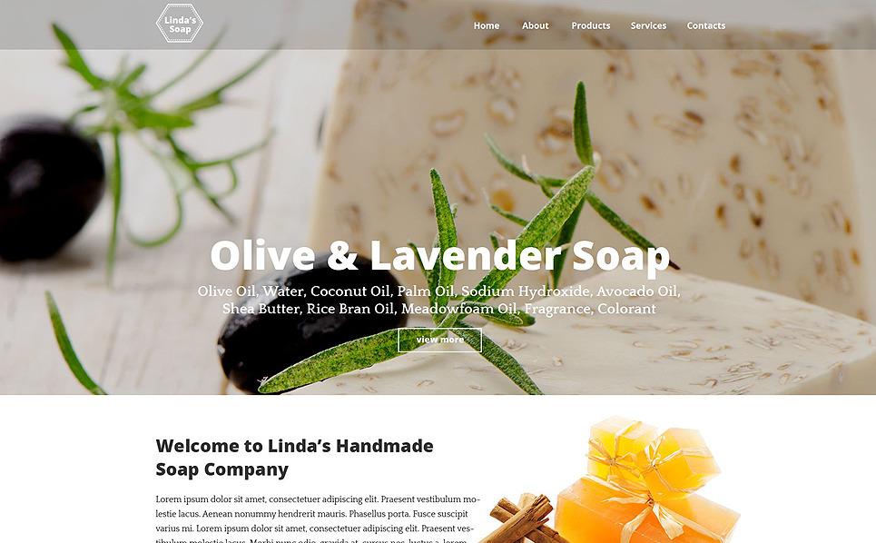 Responsive Kozmatik Mağazası  Web Sitesi Şablonu New Screenshots BIG