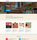 Web design Muse  Template 53463