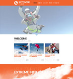Sport Website  Template 53469