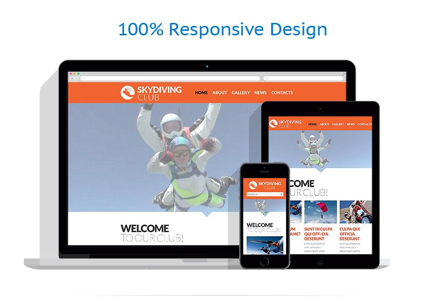 Modèles HTML5 Sport #53469