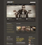 Cafe & Restaurant Website  Template 53470