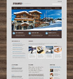 Hotels Website  Template 53471
